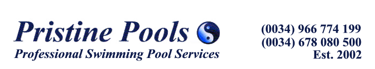 Swimming Pool SALT SYSTEMS Torrevieja Costa Blanca La Marina Spain